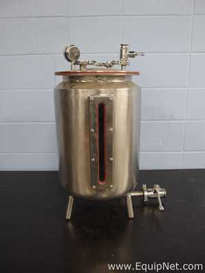 Approximately 10 Gallon Stainless Steel Vessel