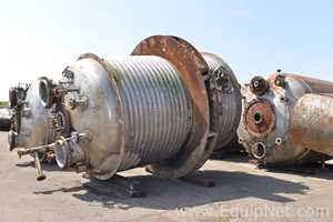 Reactor 20000 Liters with Limpet Coil Jacket