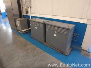 Lot of 3 Electrical Transformers 30-35KVA