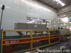 SMI SK300T Film Shrink Wrapper with Tray Former and Heat tunnel