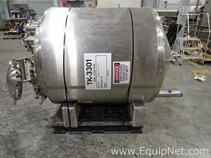 Precision Stainless 1500 Liter Jacketed Stainless Steel Tank