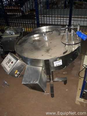Tudela Stainless Steel Rotary Table