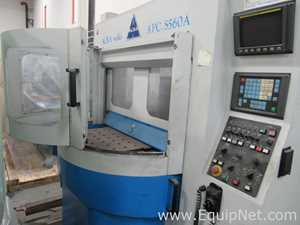22 inch x 16 inch x 16 inch Used Acra APC-S560A CNC Swing Table Production Centers with FANUC OM