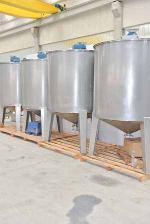 Unused Coprinox 3300 Liters Reactor