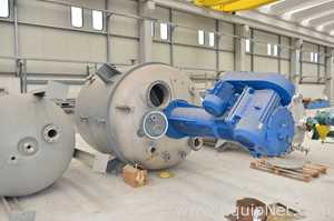 ETTORE ZANON 9800 Liters Reactor with Jacket
