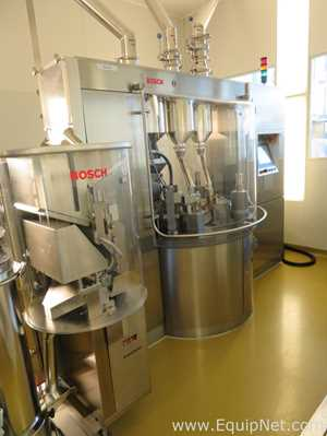 Bosch GKF2500 ASB Capsule Filling Machine with Bosch KKE 2500 Check Weigher