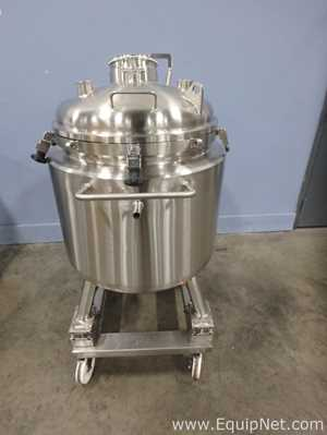 Tanque aço inox T and C Stainless 150 Liter