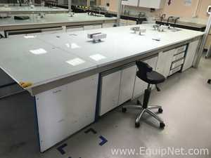 Laboratory working bench  table