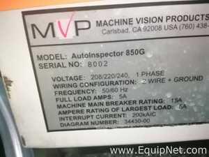 Linhas de Máquina de Inspeção MVP 850G Dual line