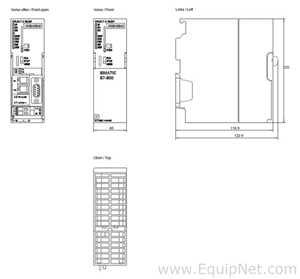 Processador Siemens 6ES7317-2EK14-0AB0