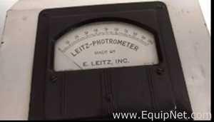 Leitz Fotrómetro, fotocolorímetro, espectrofotómetro