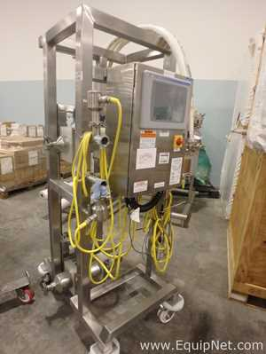 Micro Motion Mobile Skid with Dual Flow Meters and Controls