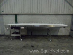 NNP Stainless Steel Intralox Belt Conveyor