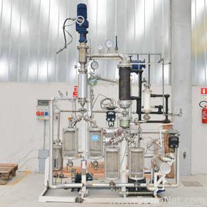 Mabo 0,15 m2 pilot thin film evaporation plant