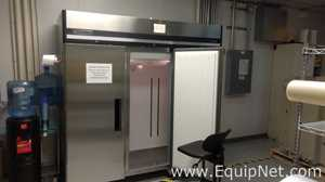 MAXX COLD MXCR-72FD Double Door Stainless Refrigerator