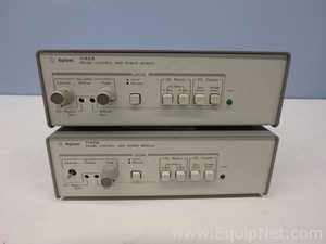 Lot of 2 Agilent Technologies 1142A Probe Control and Power Modules
