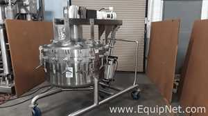 Lee 100 Gallon Stainless Steel Double Motion Mix Tank