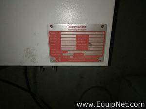 Los von 4 Vakuumpumpe BOC Edwards GV160/EH1200