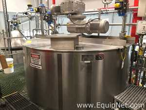 Lee Industries 1200 U9MS 1200 Gallon Jacketed Dual Motion Mixing Kettle