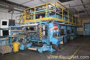 DCM 4 Colors Printing Press