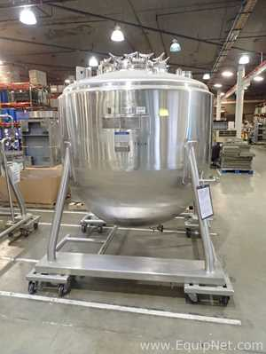 Mueller 2500 Liter Stainless Steel Jacketed Mobile Tank 82