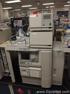 Waters 2695 HPLC with 2998 PDA and 2475 MWD