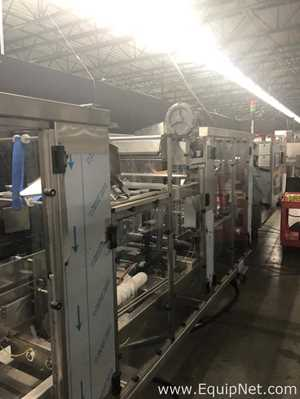 Unused 2017 PolyPack CFH Shrink Bundler - Checkweigher - Labeler and WR-20 Wrap Around Case Packer
