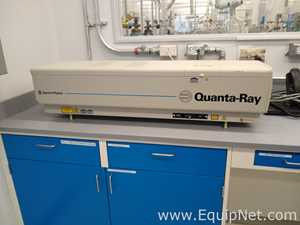 Spectra Physics Lab 170 10 Quanta Ray Laser with Accessories and Chiller