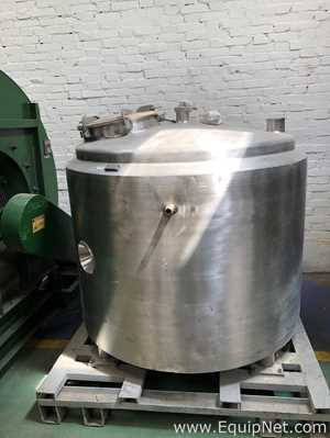 Incolnox SA Vertical Stainless Steel Jacketed 1300 L Tank - TANQ0076