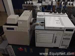 Agilent Technologies 6890N Gas Chromatograph with G1888 Network Headspace Sampler