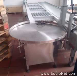 Stainless Steel Accumulator Rotary Table - MUEB0442