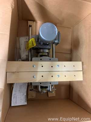 Unused Prater Industries BAV-60C Stainless Steel Rotary Airlock Valve with 0.50 HP Drive