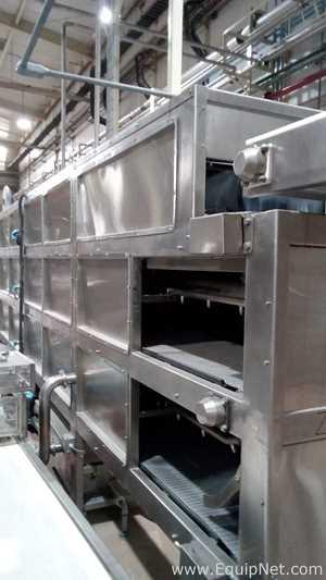 Túnel de Resfriamento aço inox Industrial JCK SAC