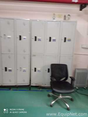 Lot of Lockers and Cabinets