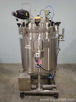 T and C Stainless 350 Liter 316L Stainless Steel Portable Vessel