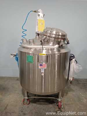 Stainless Fabrication Approximately 550L Stainless Steel Portable Mixing Vessel