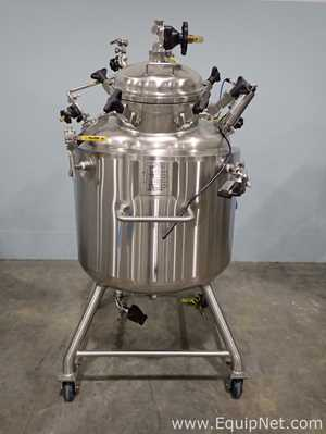 JV Northwest Approximately 300L Stainless Steel Jacketed Portable Reactor Vessel