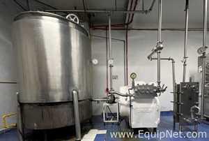 Sitema de pasteurizacion y homogeneizacion  1 Pasteurizador