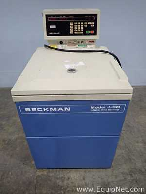 Beckman J6M Refrigerated Induction Drive Portable Centrifuge