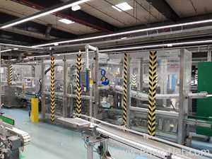 Horizontal Cartoning Machine Paal ELEMATIC 2000VTA Corrugated Carton Tray Former