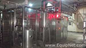Pasteurizing Homogenizing And Elecster OYJ Aseptic Filling Line and CIP System