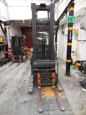 Toyota 7BDRU15 Electric Fork Lift Truck Man on Board  Stand Up
