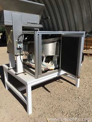 Stainless Steel Bowl Feeder with Vibratory Hopper