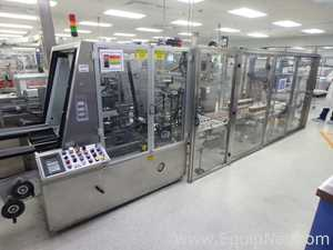 BFB Side Load Case Packer With Check Weigher and Webber Labler
