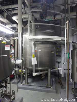 Stainless Steel Jacketed Solution Vessel