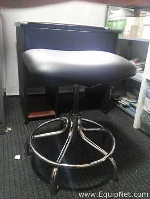 Unused Bevco 4200CR BLK Clean Room Vinyl Chair
