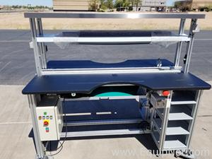 Förderer Phillips Flextek Lynx 72 Inch Oven Infeed Conveyor 2010-0315A01