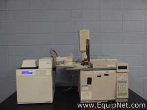 Agilent Technologies 6890N Network GC with G1888 Headspace Sampler and Dual FID Detectors