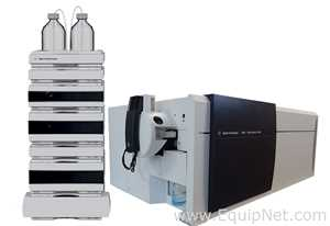 Agilent 6460 Triple Quad LCMS with HPLC System