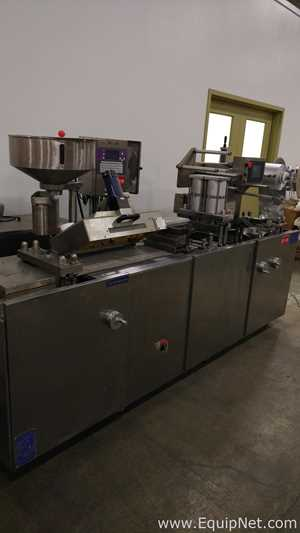 Seladora Blister Vanguard Pharmaceutical Machinery PBM-250C